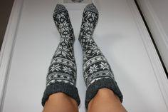 Komadyret: Laaaange sokker