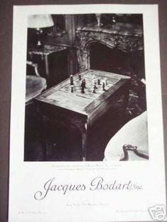 Jacques Bodart Antiques Store New York Photo (1937)