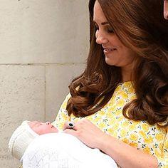 Prince William & Kate Middleton Reveal Daughter's Name: Princess ...