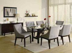 Brilliant Grey Dining Room Chairs household furniture for Home Furnishings Ideas from Grey Dining Room Chairs Design Ideas. Find ideas about  #diningroomwithgreychairs #greyandyellowdiningroomchairs #greydiningroomsetcanada #greydiningroomtableandchairs #greyslipcoversfordiningroomchairs and more Check more at http://a1-rated.com/grey-dining-room-chairs/276