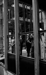 'Building Seagram,' Phyllis Lambert's New Architecture Book - Mies van der Rohe, center, touring the Seagram Building with its building committee in 1956. Phyllis Lambert, whose father founded the Seagram's empire, has written a new book about the creation of this monument to modernism, in which she played a pivotal role.