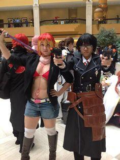 Shura and Yukio from Ao no Exorcist (Blue Exorcist) cosplay