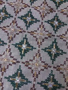 Cross Stitching, Cross Stitch Embroidery, Hand Embroidery, Hgtv, Rugs, Fabric, Decor, Craft, Embroidery Stitches