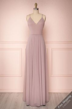 Lovina Petal Lilac Chiffon Gown with Tied Open Back Grad Dresses Long, Cute Prom Dresses, Elegant Dresses, Pretty Dresses, Beautiful Dresses, Evening Dresses, Bridesmaid Dresses, Formal Dresses, Chiffon Prom Dresses