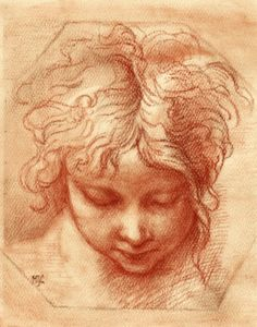 study of a sketch by Parmigianino (Girolamo Francesco Maria Mazzola) Parmigianino Study of a Head Drawing Heads, Life Drawing, Drawing Sketches, Art Drawings, Pencil Portrait, Portrait Art, Figure Painting, Figure Drawing, Unique Drawings