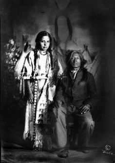 One Bull and daughter - Hunkpapa - no date