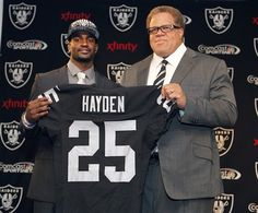 I'm already obsessed with this guy. 'D.J Hayden. -RESPECT! Welcome to Raiders!.