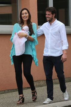 Prince Felix and Princess Claire of Luxembourg introduced their daughter, Princess Amalia!