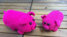 Schwein - Mister Porky Häkelanleitung - Küma Tutorial Designs