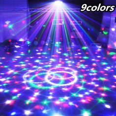 27W Crystal Magic Ball Led Stage Lamp Party decor