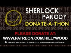 LIVE - Sherlock Parody Donate-a-thon Part 2! - YouTube