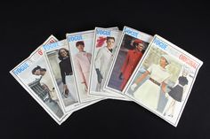 Lot6 VPO Sz14/34/36/38 orig$2.5-3.5 60s some cut some uncut all complete sld 39.95+fr 1bd 12/11/16: 2075 Pierre Cardin belted dress c/c; 2306 Givenchy long jacket & sleeveless dress c/c;1753 Molyneux jacket top & pleated skirt uncut+tag;1726 Nina Ricci Jackie Kennedy style jacket & skirt 2pcs cut& lengthened 25-uncut+tag;2339 Molyneux belted dress c/c; 2692 Molyneux belted dress c/c