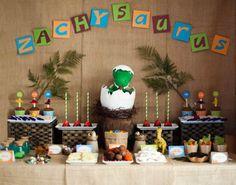 Decoración de fiestas infantiles: ideas con dinosaurios
