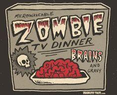 Zombie TV Dinner