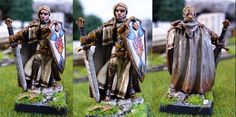 Isabeau Laroche, female paladin #rpg #D #pathfinder #miniatures #wargames From http://frikidiario.blogspot.com.es