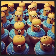 Minions!!!!  Tried this Pinterest recipe and it was a hit!  This pic is my actual result!!!