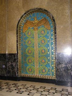 Mosaic in the Fisher Building, Detroit, MI