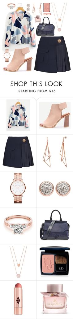 """Jonah"" by goingdigi on Polyvore featuring Marc by Marc Jacobs, Links of London, rag & bone, Michael Kors, Christian Dior, Charlotte Tilbury and Burberry"