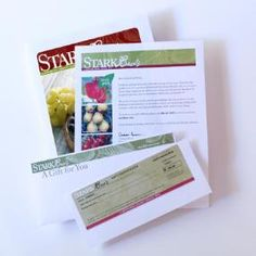 Searching for a gift idea for that hard-to-buy-for person? Treat them to a @Stark Bro's Gift Certificate. They are perfect for birthdays, weddings, or holidays. Plus, they make great stocking stuffers — ;D