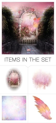 """""""Dusty Rose"""" by lazer-blade ❤ liked on Polyvore featuring art"""