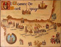 9 Ideas De Mapas Camino De Santiago Santiago Camino