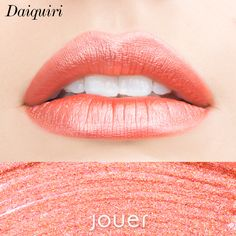 Mermaid inspired lips using the New and Limited Edition Lip Creme Liquid Lipstick in the shade Daiquiri by Jouer Cosmetics.