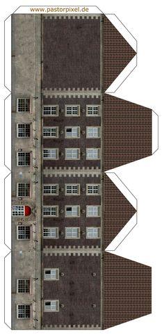 Ausschneidebogen Haus