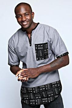 Dashiki Shirt for Men African Shirts For Men, African Dresses Men, African Attire For Men, African Clothing For Men, African Wear, Nigerian Men Fashion, African Print Fashion, Africa Fashion, Dashiki Shirt