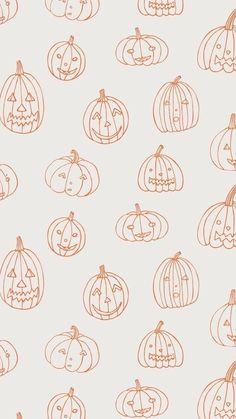 October Wallpaper, Cute Fall Wallpaper, Holiday Wallpaper, Halloween Wallpaper Iphone, Cute Patterns Wallpaper, Halloween Backgrounds, Pumpkin Wallpaper, Wallpaper Ideas, Food Wallpaper
