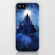 Blue autumn. iPhone & iPod Case by Viviana Gonzalez - $35.00