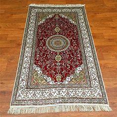 Camel Carpet Hand Knotted 3x5 Isfahan Silk Rug Camel Carpet http://www.amazon.com/dp/B01FD4V6QY/ref=cm_sw_r_pi_dp_8Otnxb1CHCSZ0