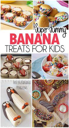 Banana Treats For Kids