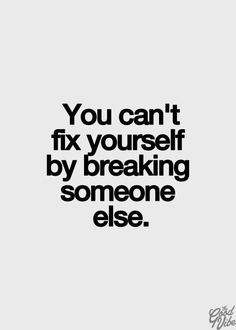 And there truly are people out there that believe and live by trying to make themselves look better by belittling someone else. I refer to them as those with a Narcissistic personality. We all know at least one. HF2
