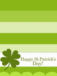 Happy St. Patrick's Day free printable