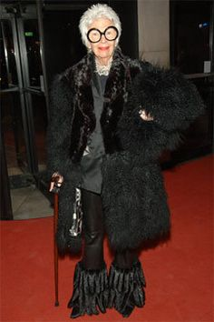 Love the feather/fur pants