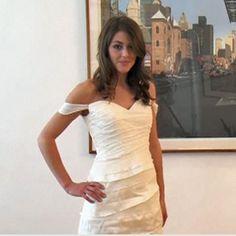 Eco-wedding dress roundup. #wedding #eco #weddingdress