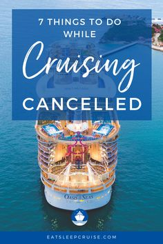 While cruising is suspended, there are plenty of things to do to enjoy your passion - besides reviewing pictures of past cruises. Here we share 7 things we are doing while cruising is cancelled. From enjoying cruise cocktails and following our favorite ships to exploring new outlets for our passion, we are finding a way to enjoy cruising without actually taking a cruise. Check it out and soon you'll be creating a packing list for your next adventure #CruiseVacation #Cruising #Cruise…