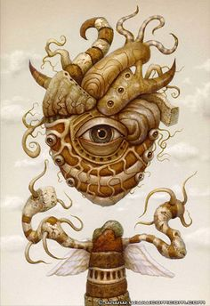 St. Heart - Twisting Reality - surrealism by Naoto Hattori
