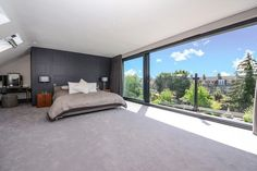 Loft Conversion Bedroom, Dormer Loft Conversion, Loft Conversions, Loft Room, Bedroom Loft, House Extension Design, Extension Ideas, Attic Bedrooms, Master Bedrooms