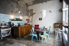 LAS cafe - design by #joannazastrozna   Sopot, Haffnera 42, Poland. #lascafedolnysopotpolnoc #joannazastrozna #sopot #glutenfree #sugarfree #auduncoffee