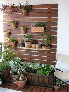 construir um pequeno jardim numa varanda - Pesquisa Google