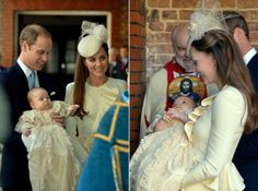 As Kate celebrates her 32nd birthday, Jan 9, 2014, we look back at 2013, a momentous year in her life.......October 23, 2013: The Duke and Duchess of Cambridge attend the christening of their son Prince George at St James's Palace in London.