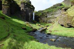 Kvernufoss , Iceland