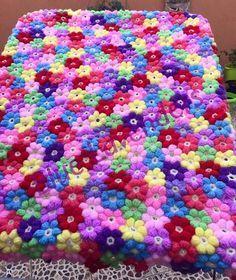 Petal Puff Flower [Crochet Stitch]