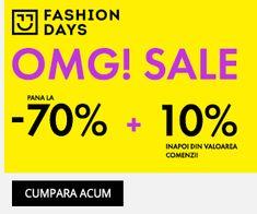 La Moda: OMG! Sale reduceri de pana la 70%