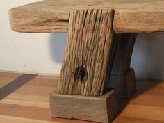 nice recycled timber bench