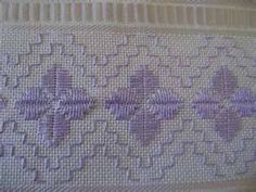 Risultati immagini per ponto reto Embroidery Floss Projects, Embroidery Designs, Types Of Embroidery, Ribbon Embroidery, Swedish Embroidery, Hardanger Embroidery, Embroidery Stitches, Cross Stitch Borders, Cross Stitch Patterns