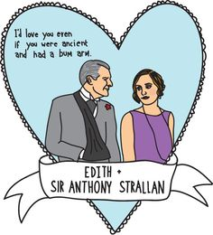 The unhappy ending of Lady Edith and Sir Anthony Strallan