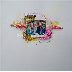 pages scrap avec les tampons de la compagnie - tampons la compagnie des elfes Westerns, Tampon Scrapbooking, Tampons, Polaroid Film, Perfect Photo, Elves, Pictures