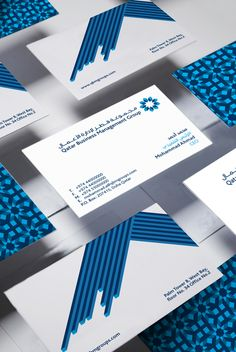 QATAR BUSINESS MANAGEMENT GROUP by Mohammad Habet, via Behance